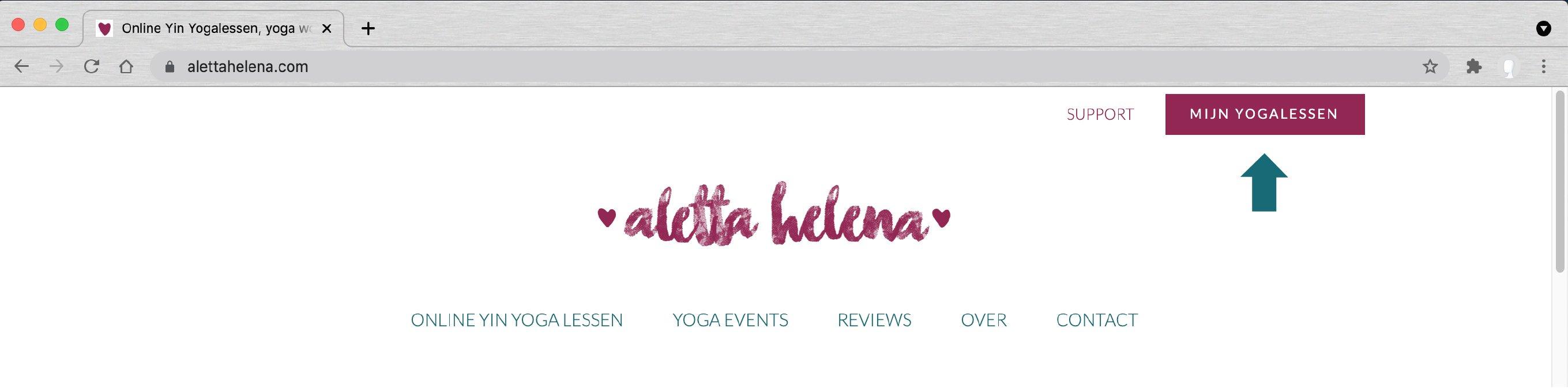 Toegang yogalessen Desktop Aletta Helena Online Yogastudio